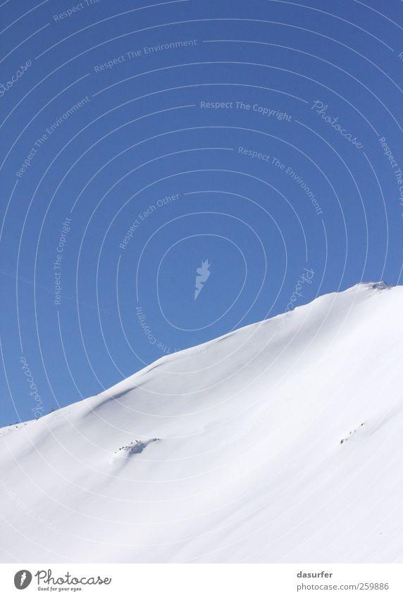 Winter Wonder World Natur blau weiß Sonne Landschaft Freude Ferne Winter kalt Berge u. Gebirge Umwelt Schnee außergewöhnlich Freiheit Freizeit & Hobby frei