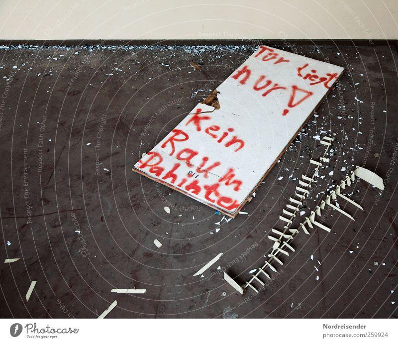 Gemochte Komik... Stadt Wand Graffiti lachen Mauer Tür Raum Wohnung dreckig frisch Schriftzeichen kaputt Häusliches Leben Coolness Neugier schreiben
