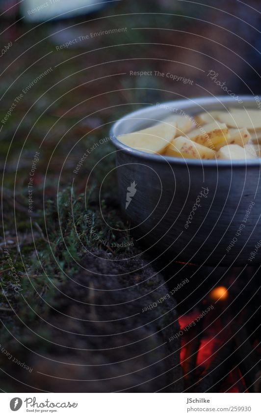 anti fast food Natur Ferien & Urlaub & Reisen Sommer ruhig Ferne Erde Lebensmittel warten Abenteuer Feuer Kochen & Garen & Backen Appetit & Hunger Camping