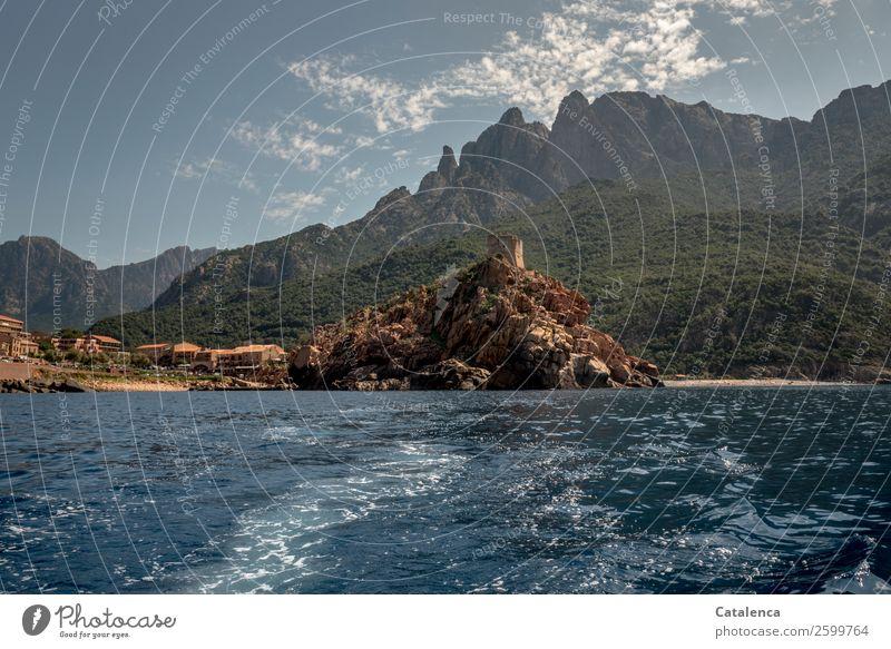 Porto | wir verlassen dich Himmel Ferien & Urlaub & Reisen alt Sommer blau grün Wasser Landschaft Meer Strand Berge u. Gebirge Küste Tourismus braun Felsen