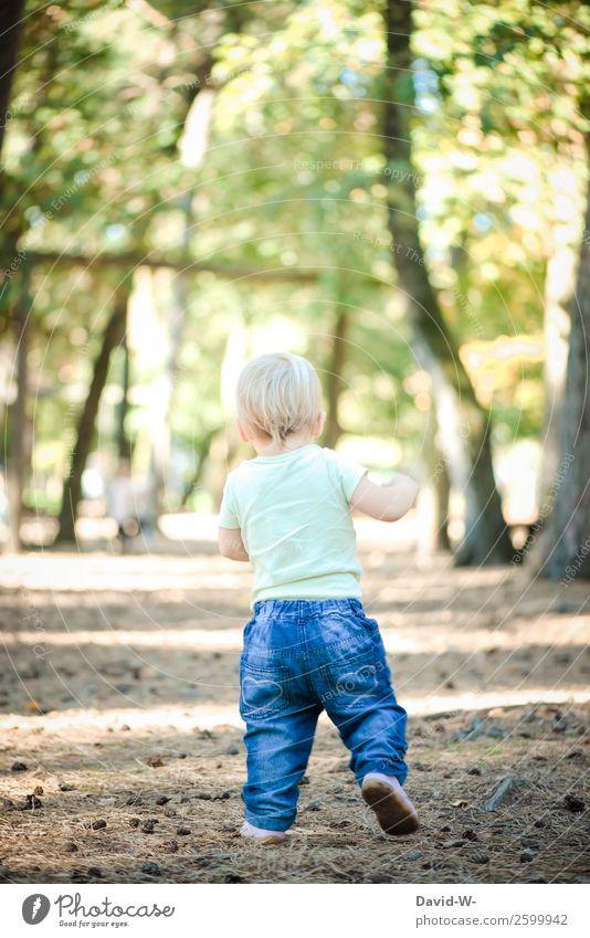 und los geht es... elegant Leben harmonisch Wohlgefühl Zufriedenheit Sinnesorgane ruhig Abenteuer Mensch Kind Baby Kleinkind Mädchen Junge Kindheit 1