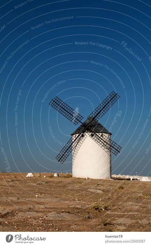 spanisch widmil Ferien & Urlaub & Reisen Kultur Turm Architektur Sehenswürdigkeit Denkmal historisch Mühle Windmühle Spanische Architektur Sägewerk