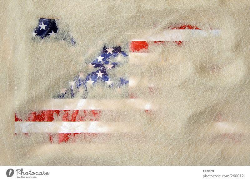 Ferien & Urlaub & Reisen Tod USA Fahne Krieg Riss Zerstörung Desaster Entwurf Schaden Amerikaner Terrorismus vernichten Irak Terroranschlag