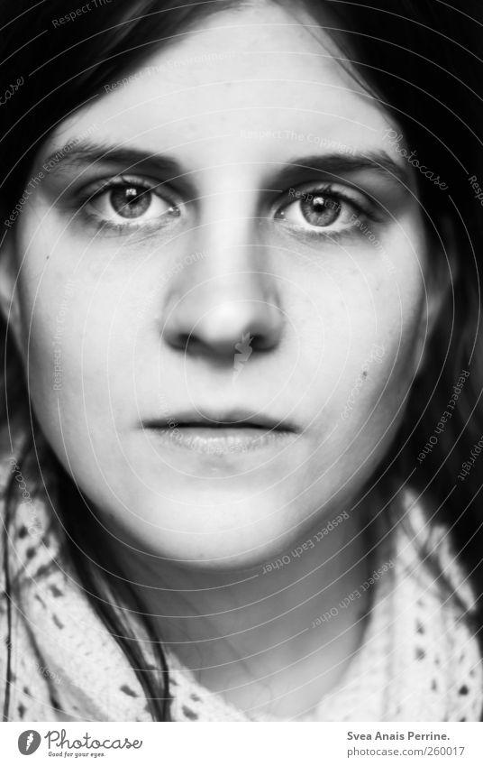 1. Mensch Jugendliche schön Gesicht Erwachsene Auge feminin Haare & Frisuren Mund Nase außergewöhnlich 18-30 Jahre einzigartig Junge Frau beobachten Ohr