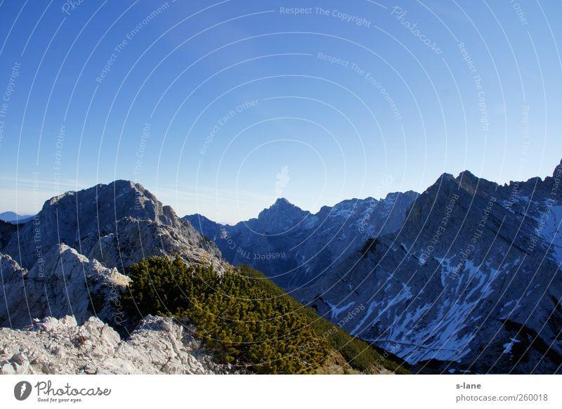 Freiheit......... Freizeit & Hobby Klettern Bergsteigen Umwelt Natur Landschaft Erde Himmel Wolkenloser Himmel Klima Wetter Hügel Felsen Alpen Berge u. Gebirge