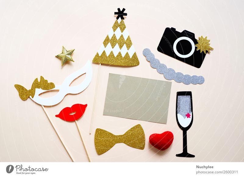Freude Gesicht gelb Liebe Glück Stil Feste & Feiern Mode Design Dekoration & Verzierung retro Geburtstag Herz Geschenk Fotografie niedlich
