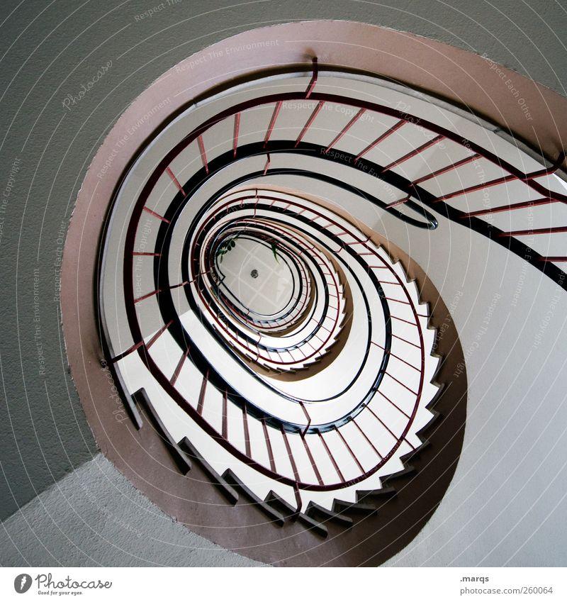 Helix Architektur Wege & Pfade Innenarchitektur Treppe ästhetisch Treppengeländer Treppenhaus Spirale Karriere aufsteigen Wendeltreppe