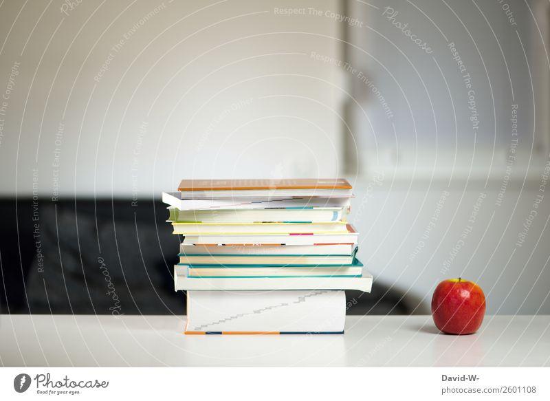 Arbeitsplatz Mensch ruhig Leben Kunst Kraft Erfolg lernen Buch Studium lesen Erwachsenenbildung Bildung Apfel Wissenschaften Karriere