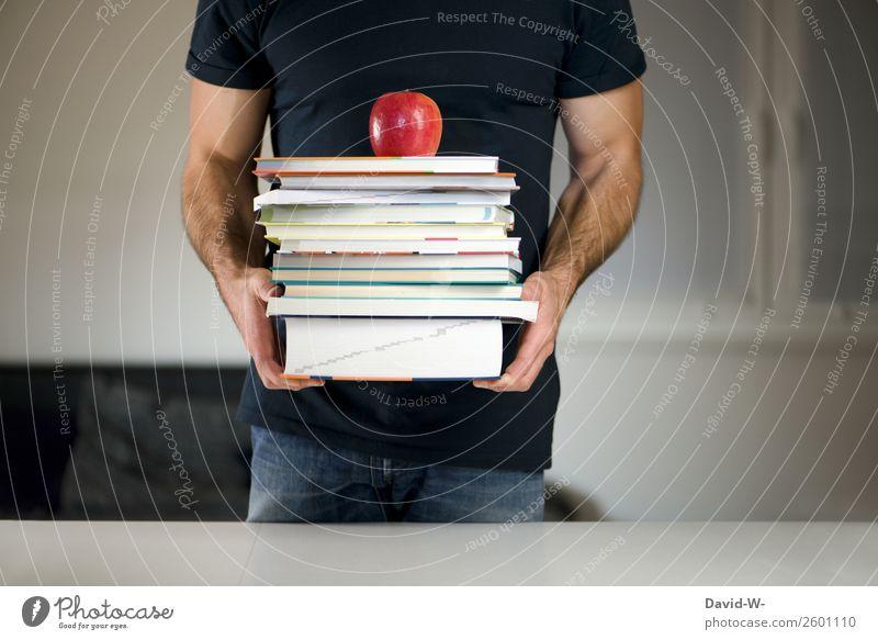 Lesestoff elegant Stil Bildung Schule lernen Schüler Student Prüfung & Examen Mensch maskulin Mann Erwachsene Jugendliche Leben lesen tragen Erfolg Kraft