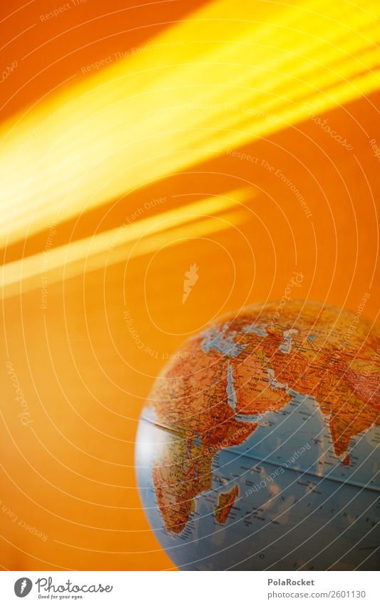 #A# Shining Earth Kunst Kunstwerk ästhetisch Erde Globus global Globalisierung Globalisierungsgegner graphisch Planet Farbfoto mehrfarbig Außenaufnahme