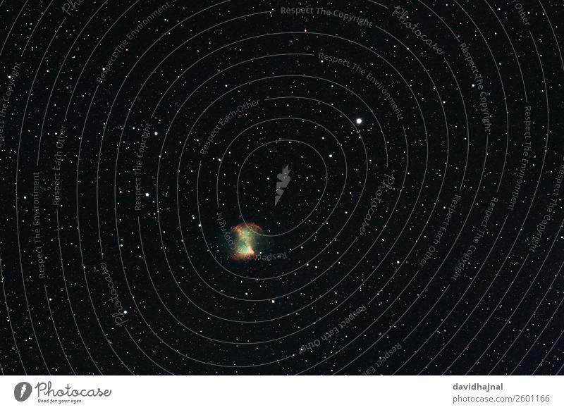 Hantelnebel Teleskop Technik & Technologie Wissenschaften Fortschritt Zukunft High-Tech Raumfahrt Astronomie Umwelt Natur Landschaft Himmel nur Himmel