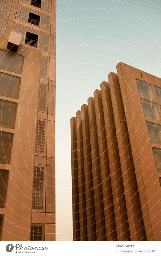 wachsende neubauten Stadt Fenster Architektur Hochhaus Skyline