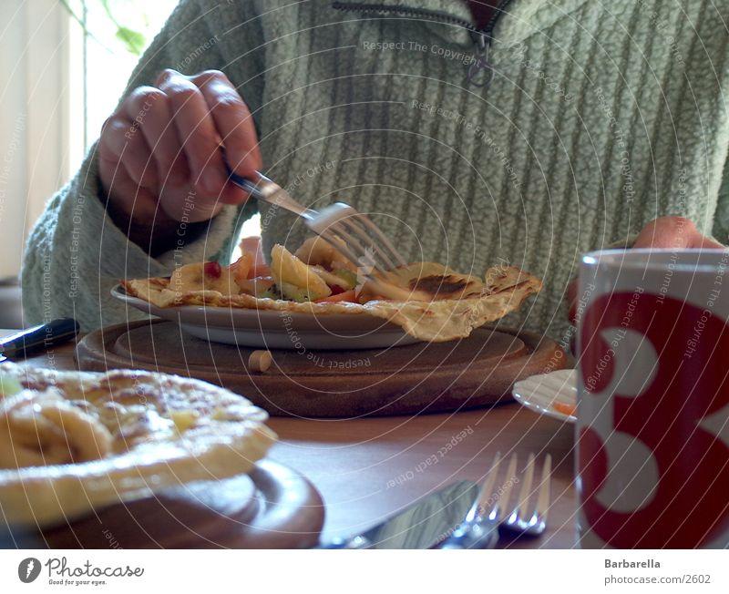 Pfannekuchen Ernährung Frucht Frühstück