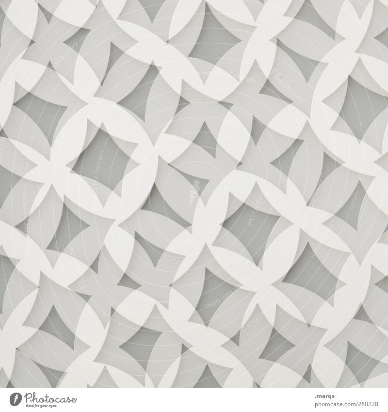 Bloomy weiß Stil Hintergrundbild elegant Design ästhetisch außergewöhnlich Lifestyle einzigartig Sauberkeit Grafik u. Illustration Zeichen rein chaotisch trendy Doppelbelichtung