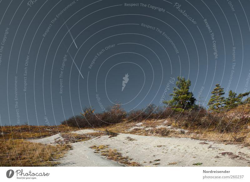 Badlands Natur Landschaft Pflanze Wolkenloser Himmel Sommer Klima Schönes Wetter Hügel Felsen Linie Streifen fliegen Ferien & Urlaub & Reisen trocken Wärme