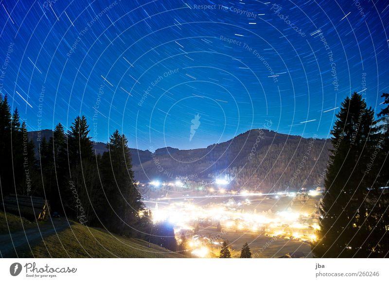 Saanen Himmel Natur ruhig Wald Erholung Wiese Herbst Landschaft Berge u. Gebirge Wege & Pfade Erde Zeit wandern Stern Abenteuer Tourismus