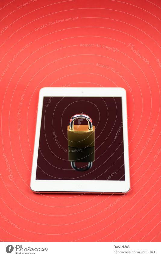 Sicherheit Stil Kunst Design elegant Technik & Technologie Telekommunikation Computer geschlossen Schutz Internet Informationstechnologie Reichtum Notebook