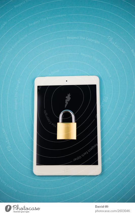 safe Leben Stil Business Design Angst elegant Technik & Technologie Telekommunikation Erfolg Computer Zukunft gefährlich kaufen geschlossen Sicherheit Internet