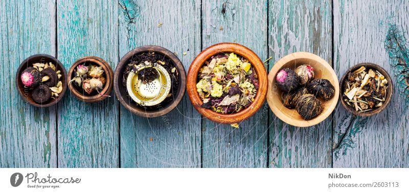 Trockene Teeblätter Blatt trinken schwarz Gesundheit trocknen Kraut Pflanze organisch Kräuterbuch Chinesisch natürlich Nahaufnahme Antioxidans Haufen Natur