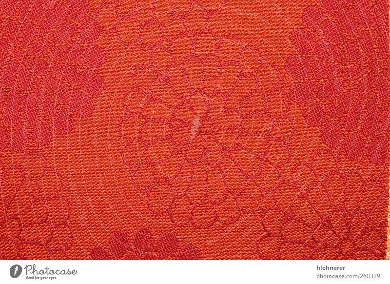 Rotes Gewebe Design Dekoration & Verzierung Tapete Stoff rot Farbe Textil Konsistenz Hintergrund Detailaufnahme Sehne Oberfläche Nahaufnahme texturiert Vorhang