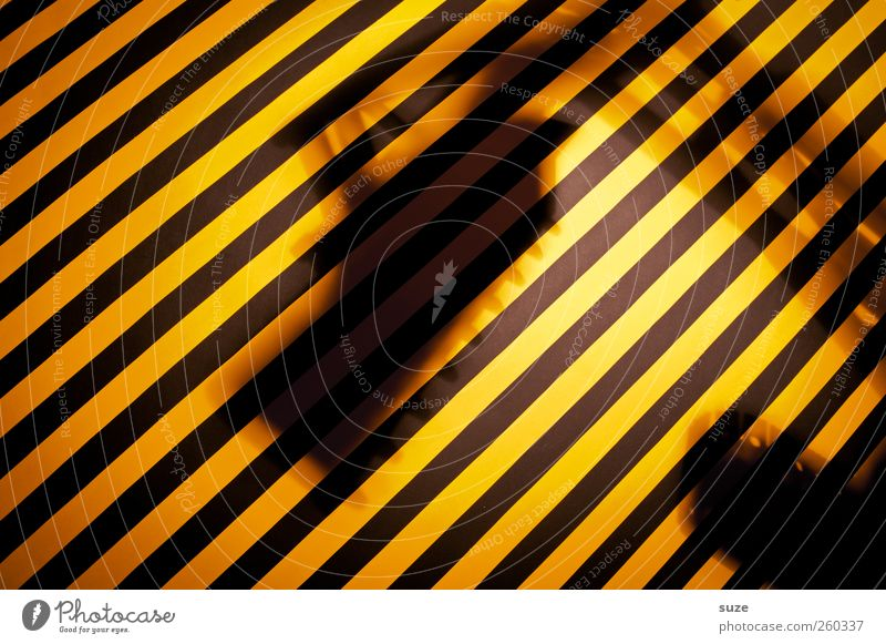 Under Construction schwarz gelb lustig Arbeit & Erwerbstätigkeit Hinweisschild Streifen Baustelle Kreativität Idee Warnhinweis gestreift Warnung Bagger knallig