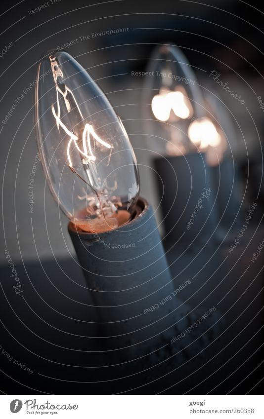 planned obsolescence Lampe Glühbirne Beleuchtung Glühdraht Glas Metall heiß Wärme Warmherzigkeit Idee Kreativität leuchten brennen Farbfoto Gedeckte Farben