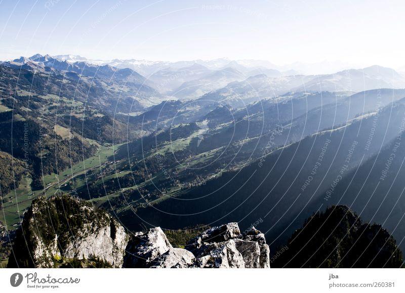Obersimmental Himmel Natur blau schön Sommer Erholung Straße Herbst Leben Landschaft Berge u. Gebirge Stein Luft Zufriedenheit Felsen wandern