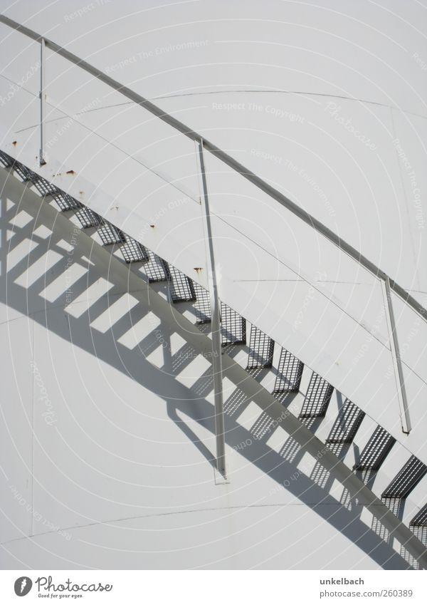 Aufwärts Architektur Gebäude Treppe Bauwerk anstrengen Industrieanlage