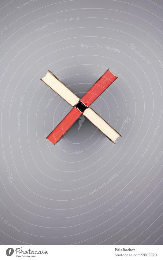 #A# Bücherkreuz Kunst ästhetisch Buch Büchersendung Symbole & Metaphern Kreuz x Buchrücken Bibliothek Literatur Literatursprache minimalistisch graphisch