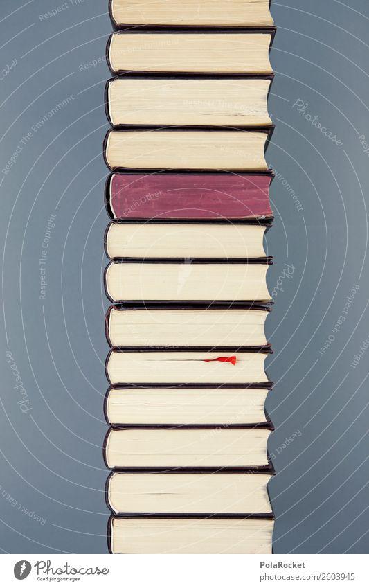 #A# ToRead Kunst Schule ästhetisch lernen Buch Studium viele Wissen Kunstwerk Buchseite Stapel Büchersendung
