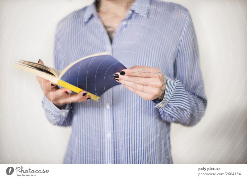 Leselust - [AM111] Freizeit & Hobby Junge Frau Jugendliche Erwachsene Leben Arme Hand 8-13 Jahre Kind Kindheit 13-18 Jahre 18-30 Jahre Bildung Identität