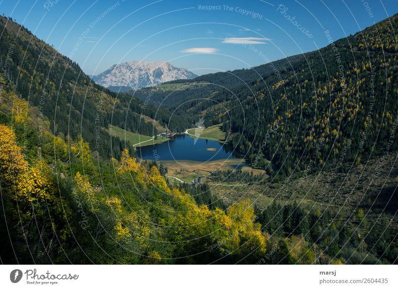 Herbst am steirischen Bodensee Erholung ruhig Ferien & Urlaub & Reisen Tourismus Ausflug Ferne Freiheit Berge u. Gebirge wandern Bundesland Steiermark