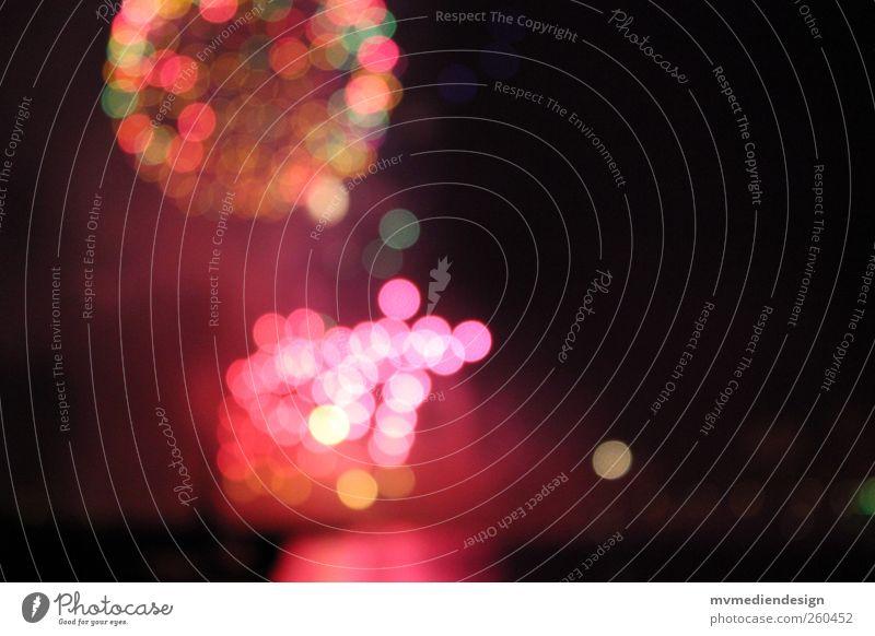 Feuerwerk Farbstoff Hoffnung Silvester u. Neujahr