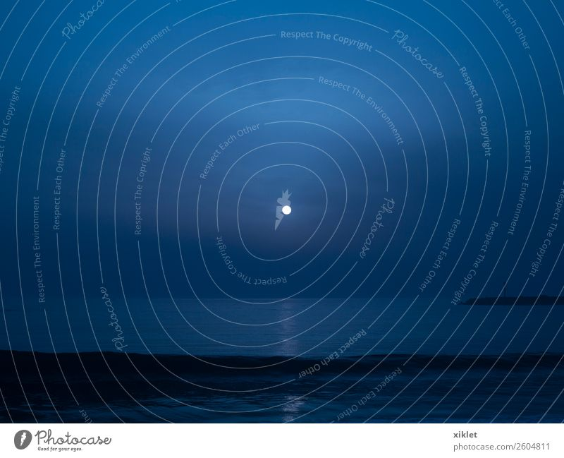 Ferien & Urlaub & Reisen Sommer blau Wasser Landschaft Sonne Erholung Wolken Gesundheit Glück Sand Horizont Wellen Energie Gelassenheit ruhen