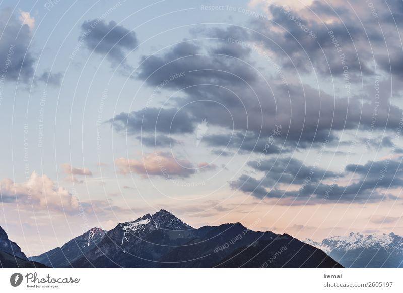 Morgens in den Bergen Lifestyle harmonisch Wohlgefühl Zufriedenheit Sinnesorgane Erholung ruhig Freizeit & Hobby Ferien & Urlaub & Reisen Ausflug Abenteuer