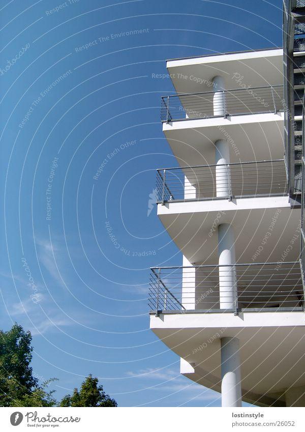 balkonien Himmel Gebäude Architektur Balkon einheitlich