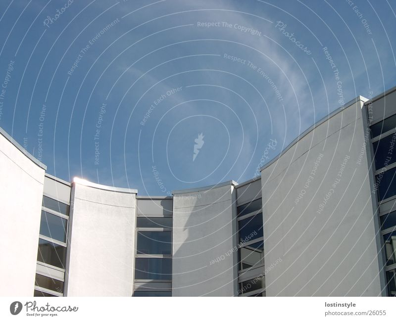 kurve Himmel Architektur Gebäude Schulgebäude