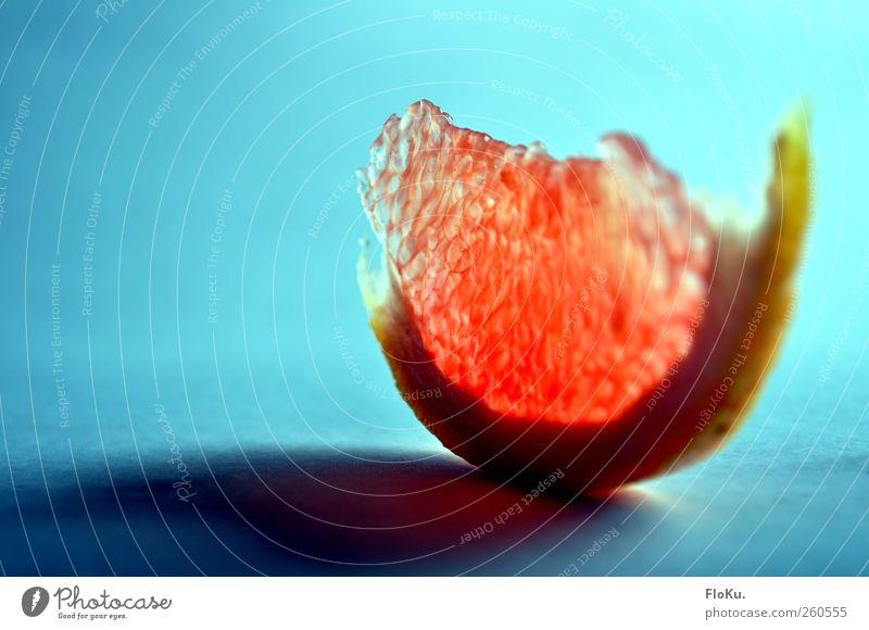 Fast schon giftig blau rot rosa Frucht Lebensmittel verrückt frisch Ernährung leuchten süß lecker Bioprodukte exotisch Diät Scheibe saftig