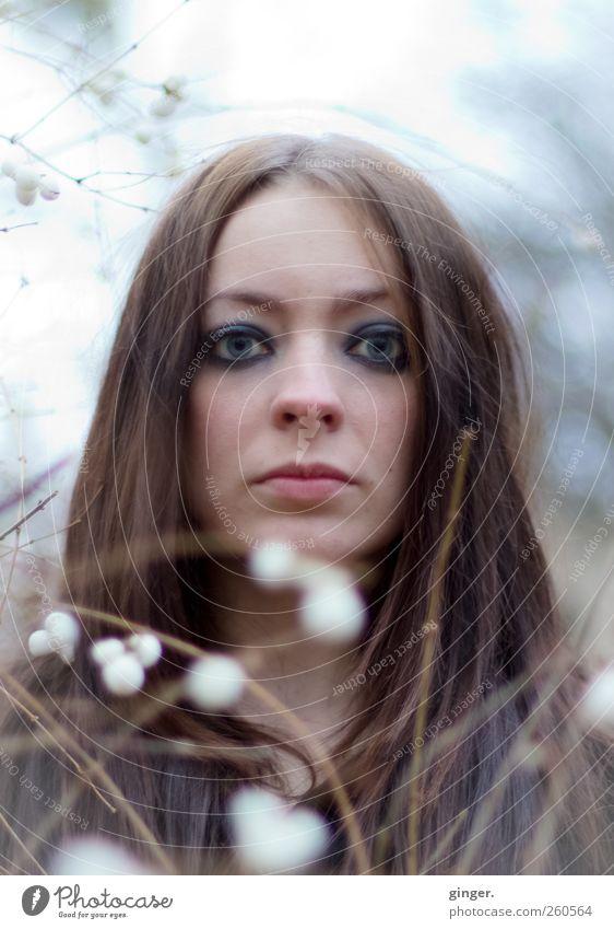 Ins Licht des Tages Mensch feminin Junge Frau Jugendliche Erwachsene Leben Kopf Haare & Frisuren Gesicht 1 18-30 Jahre Blick authentisch schön Lichtspiel