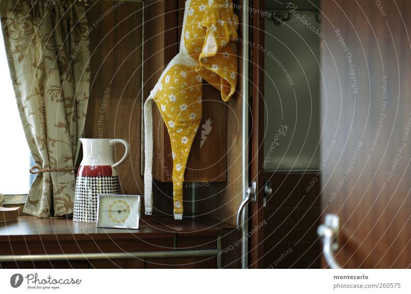 Vintage weiß grün Ferien & Urlaub & Reisen gelb Stil Mode braun Innenarchitektur Raum Wohnung Freizeit & Hobby Schwimmen & Baden Ausflug Design Uhr