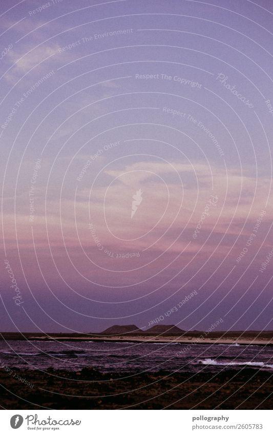 Horizon Ferien & Urlaub & Reisen Ausflug Ferne Freiheit Sommer Sommerurlaub Strand Meer Natur Luft Wasser Himmel Wolken Wetter Schönes Wetter dunkel schön