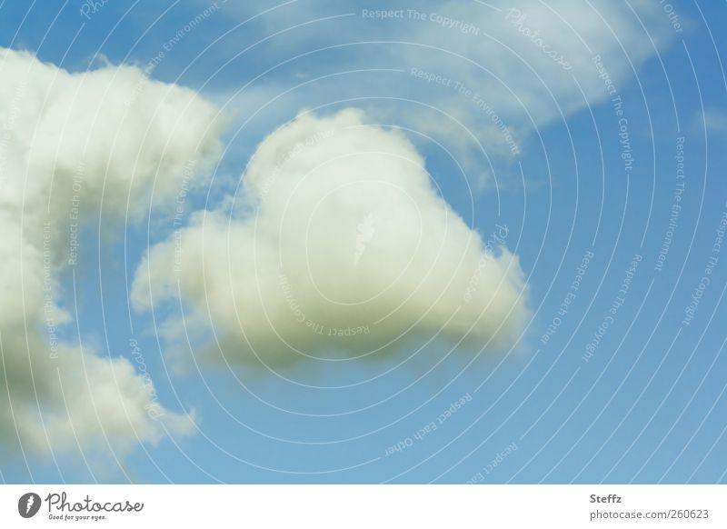 come back my heart Herz Wolken Himmel Trennung flüchten entkommen Flucht driften Wolkengestalt gehen aufbrechen wegfahren lustig verfolgen durchbrennen frei
