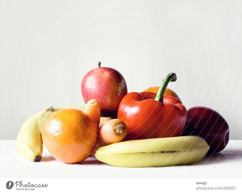 Stockobst Gemüse Frucht Bioprodukte Vegetarische Ernährung Diät frisch Gesundheit vitaminreich Vitamin mehrfarbig natürlich Foodfotografie Farbfoto