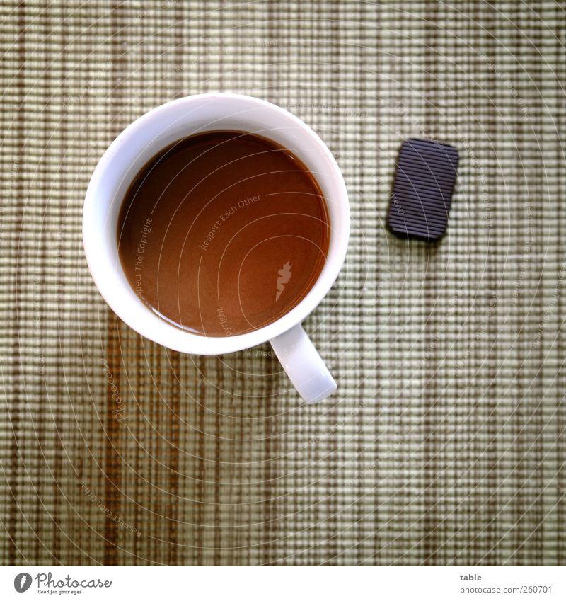 Will jemand nen Kaffee? grün weiß ruhig schwarz Erholung braun Wohnung Lebensmittel Zufriedenheit Ernährung Lifestyle Häusliches Leben Getränk Kaffee trinken genießen