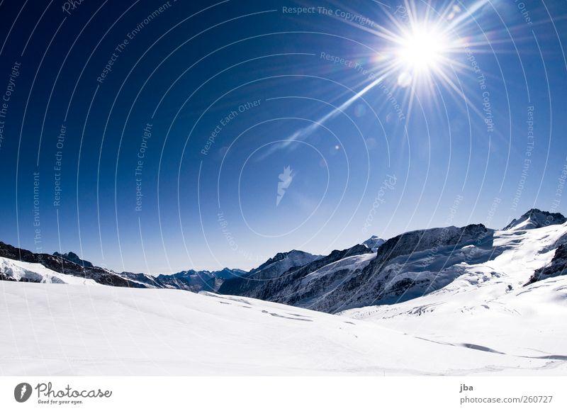 Gletscher Erholung ruhig Ausflug Abenteuer Freiheit Expedition Winter Schnee Winterurlaub Berge u. Gebirge Klettern Bergsteigen Natur Luft Himmel