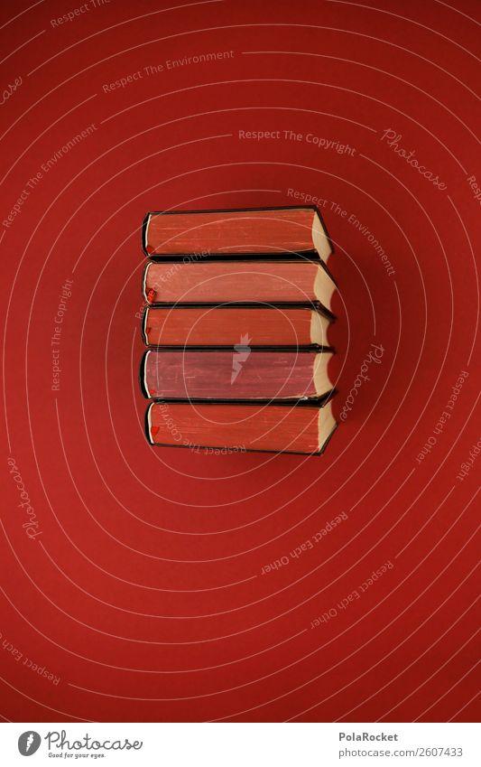 #A# Schwere Kost Kunst Kunstwerk Schule seriös Buch Büchersendung Wissen Wissenschaften Wissenschaftsmuseum Literatur Literatursprache Niveau Bibliothek rot