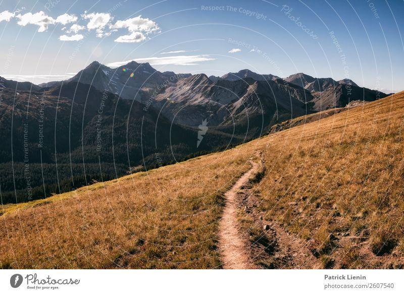Maroon-Snowmass Wilderness in Colorado Wellness Leben harmonisch Ferien & Urlaub & Reisen Tourismus Ausflug Abenteuer Ferne Freiheit Camping Berge u. Gebirge