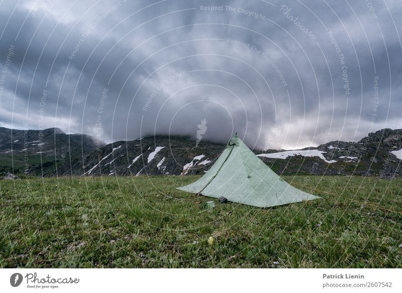 Backcountry Wellness Ferien & Urlaub & Reisen Ausflug Abenteuer Camping Sommer Berge u. Gebirge wandern Umwelt Natur Landschaft Urelemente Erde Himmel Wolken