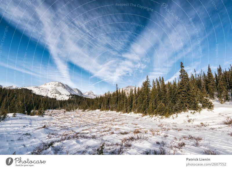 Indian Peaks Wilderness Tourismus Ausflug Abenteuer Ferne Freiheit Camping Winter Berge u. Gebirge wandern Umwelt Natur Landschaft Urelemente Himmel Wolken