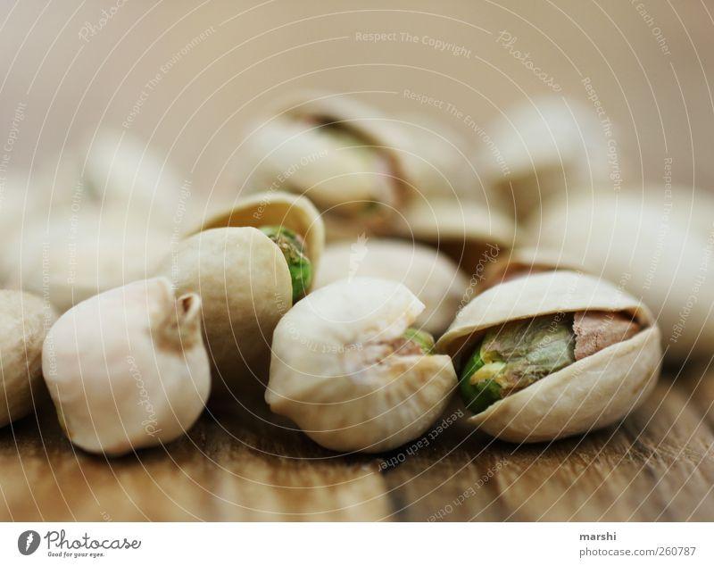 Pistazien braun Ernährung Lebensmittel lecker Hülle Nuss Nahrungssuche Unschärfe